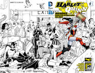 Harley Quinn Invades Comic Con International San Diego Vol 2-1 Cover-3