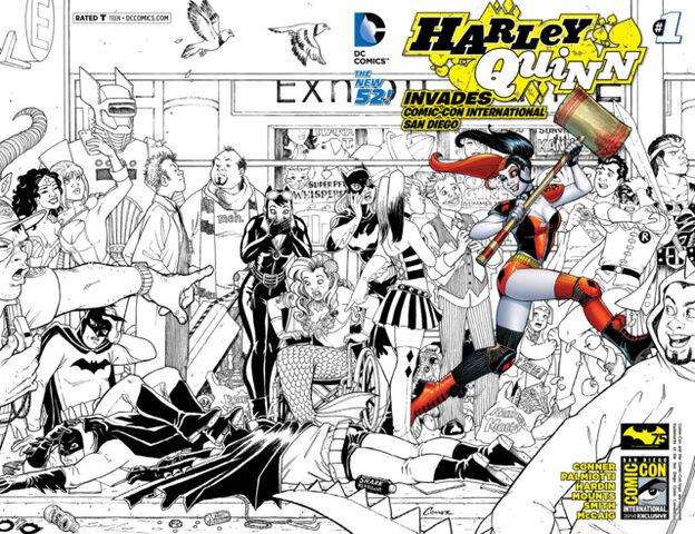 File:Harley Quinn Invades Comic Con International San Diego Vol 2-1 Cover-3.jpg