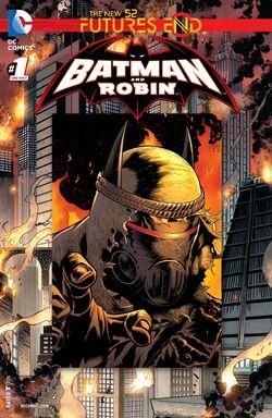 Batman and Robin Vol 2 Futures End-1 Cover-1