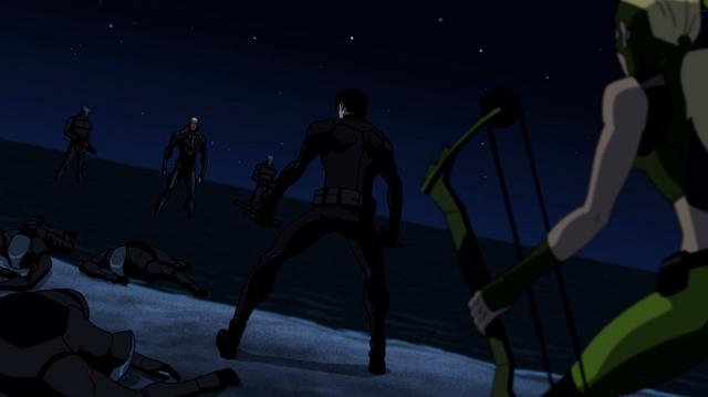 File:Nightwing & Artemis vs Manta Men.png