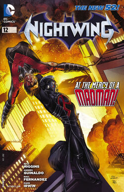 Nightwing Vol 3-12 Cover-1
