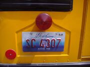 GC Bus plate