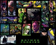 Batman Forever Comic art 2