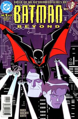 Batman Beyond V1 01 Cover