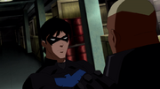 Nightwing and Kaldur