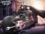 Batman on Batpod