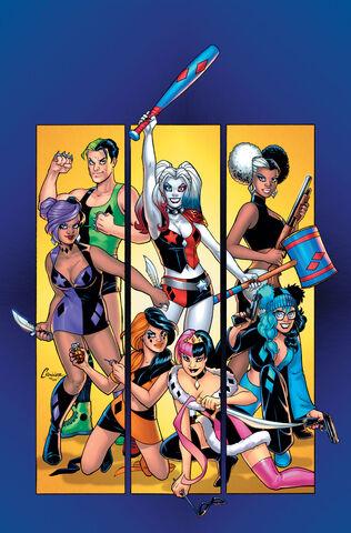 File:Harley Quinn and Her Gang of Harleys Vol 1-1 Cover-1 Teaser.jpg