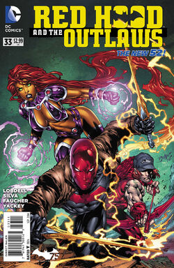 Red Hood and The Outlaws Vol 1-33 Cover-1