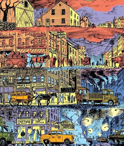 File:Gotham City Historical Timeline Progression1.jpg