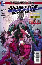 Justice League of America Vol 3-8 Cover-2