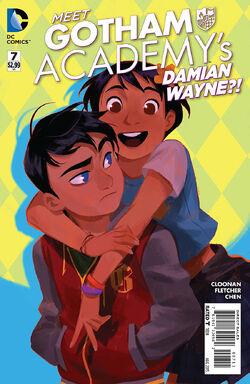 Gotham Academy Vol 1-7 Cover-1