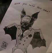 Bat Man pinstripes