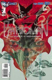 Batwoman Vol 1-1 Cover-2