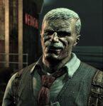 James Gordon Arkham Asylum Closeup1
