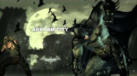 Batman Arkham City Main Menu Theme