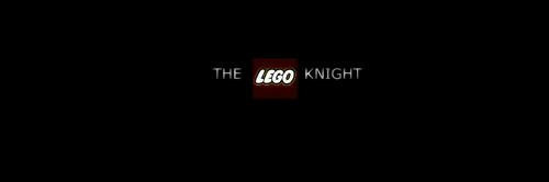 The Dark Knight Lego Poster