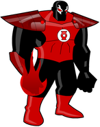 Bane as Red Lantern by bkno