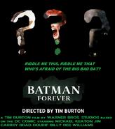 Burtons Batman Forever