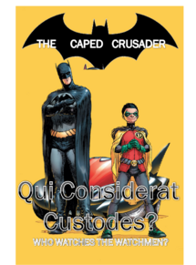 The Caped Crusader Poster 4