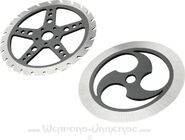 Speed Wheel Throwing Discs-TA-27-angle