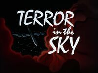 Terror in the Sky Title Card