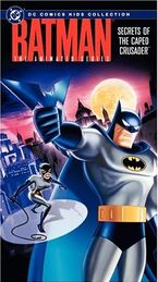 Secrets Caped Crusader VHS