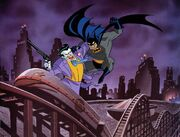 Batman vs. Joker Litograph