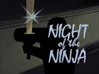 Night of the Ninja Title Card