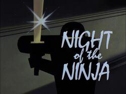 Night of the Ninja Title Card