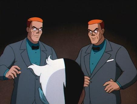 redheaded henchmen