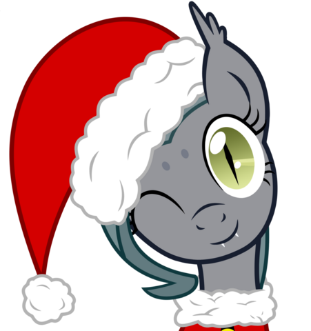 File:Santa grey mouse by vectorvito-d6zcavq.png