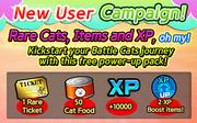New user campaign en