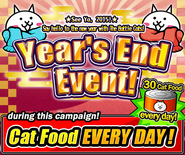 Year's end event en