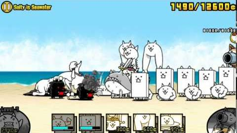 The Battle Cats - Salty is Seawater - Played by Nurse Wuffa-1