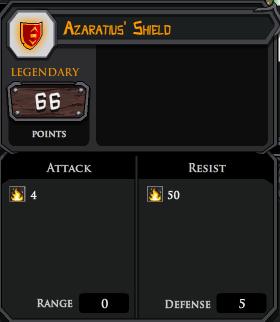 Azaratius Shield profile