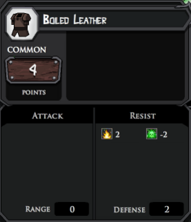 Boiled Leather profile