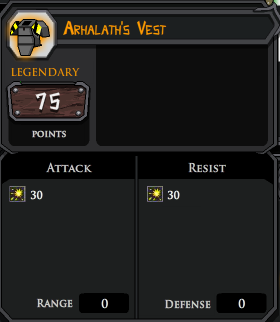 Arhalaths Vest profile