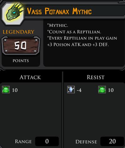 Vass Potanax Mythic profile