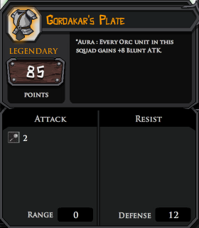 Gordakars Plate profile