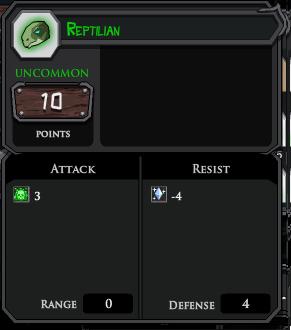 Reptilian profile