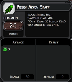 Poison staff complete