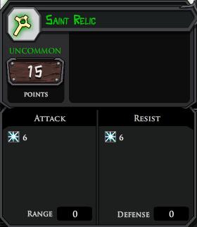 Saint Relic profile