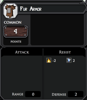 Fur Armor profile