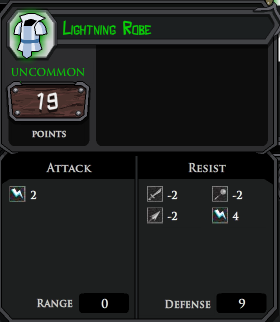 Lightning Robe profile