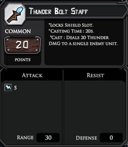 Thunder bolt complete