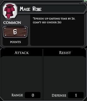 Mage Robe profile