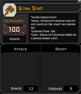 Ultima Staff profile