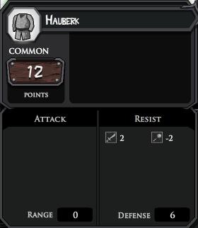 Hauberk profile