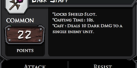 Dark Staff