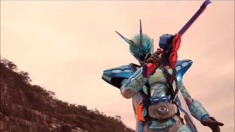 Sin Specter - henshin and fight